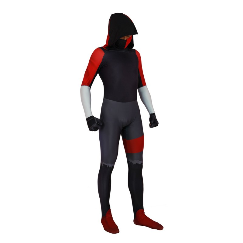 Fortnite iKonik costume Lycra Fabric Bodysuit