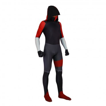 Fortnite iKonik costume Lycra Fabric Bodysuit